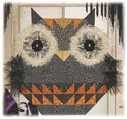 Hocus Pocus Happy Hollow Quilt Pattern Plus Embellishment 811P Halloween Pumpkin